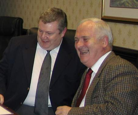 Derek Mooney & Former Taoiseach John Bruton
