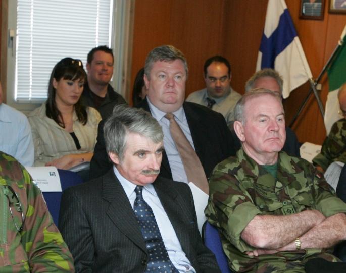 Derek at UNIFIL Briefing in Lebanon
