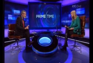 Gerry Adams quizzed by Miriam O'Callaghan