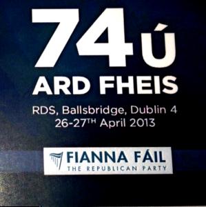 Fianna Fáil Ard Fheis this weekend