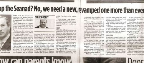 My latest column in Friday's Herald