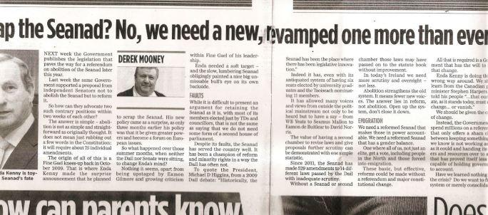 My latest column in Friday's Herald