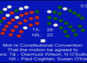Government just defeats Seanad attempt to refer abolition to Constitutional Convention