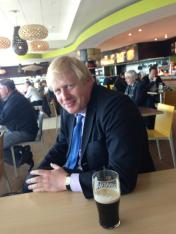 Boris Johnson pic from @mayoroflondon twitter a/c