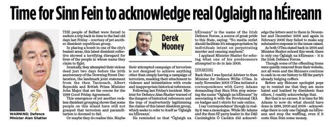 Oglaigh article