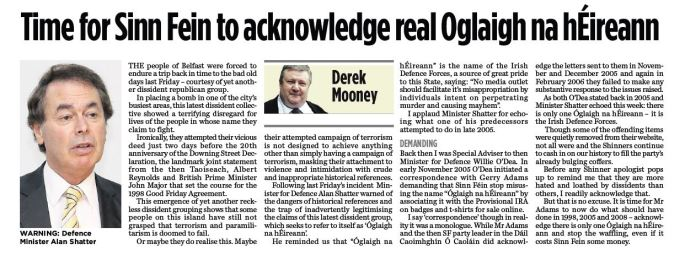Oglaigh article